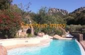San Pantaleo - Villa mit Pool und herrlicher Aussicht.