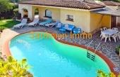 Costa Smeralda - freistehendes Haus mit Meerblick und Pool zum ehrlichen Preis